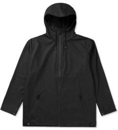 RAINS Black Breaker Jacket Picutre