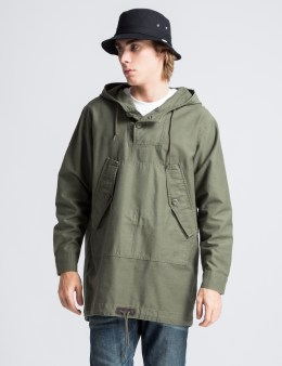 Stussy Olive Military Poncho Picture