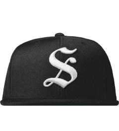 Stussy Black Gothic S Cap Picutre