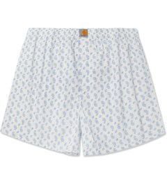 Carhartt WORK IN PROGRESS White/Bleach Paisley Print Boxer Short Picutre