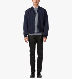 Études Studio Grey Stars Crewneck Sweater Model Picutre