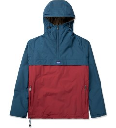 Penfield Petrol/Red ELK Pullover Hooded Anorak Picture
