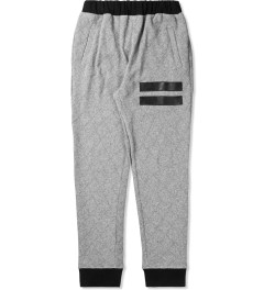 Grand Scheme Grey Quilted Track Pants Picutre