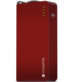 mophie Red Power Reserve Lightning Power Station (2nd Generation) Model Picture