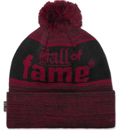 Hall of Fame Red Bars & Hooks Beanie Picture