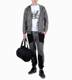 Mark McNairy for Heather Grey Wall Grey AK47 Hooded Jacket Model Picture