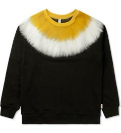 P.A.M. Black Fuzz Sweat Top Sweater Picture