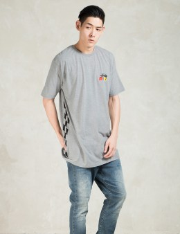 Stussy Grey Heather Stussy Stars T-Shirt Picture