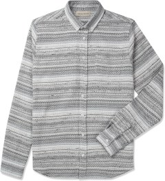 Libertine-Libertine Black/White Hunter Planet L/S Shirt Picutre