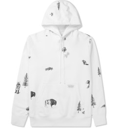 Raised by Wolves White Trap Life Pullover Hoodie Picture
