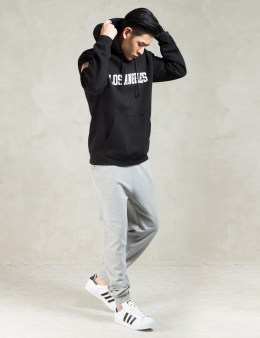 Stussy Grey Heather French Terry Pants Picture