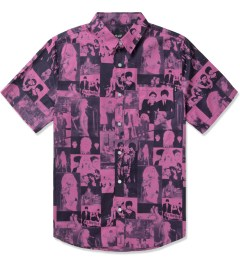 HUF Pink Blondie S/S Woven Shirt Picutre