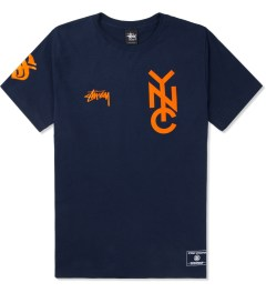 Stussy Navy NYC 80 T-Shirt Picture