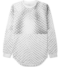 Stampd White Allover Snake Print L/S T-Shirt Picture