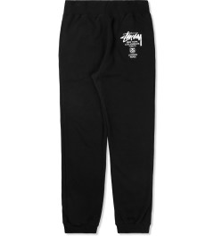 Stussy Black World Tour Sweatpants Picture