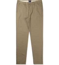 Stussy Khaki Washed Chino Pants III Picutre