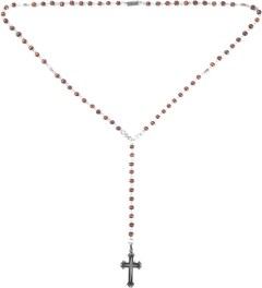 Icon Brand Burnished Copper/Matte Black Cross Pendant Necklace Picture