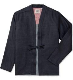 Naked & Famous Indigo Lyocell Selvedge Kimono Shirt Picutre