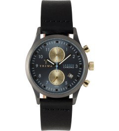TRIWA Walter Lansen Chrono Watch w/ Black Classic Strap Picture