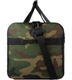 HUF Woodland Camo Travel Duffle Bag Model Picture