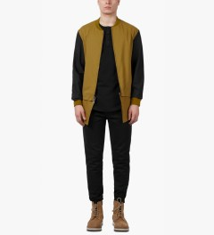 3.1 Phillip Lim Amber Zip Off Shirt Tail Harrington Zip Up Jacket Model Picture