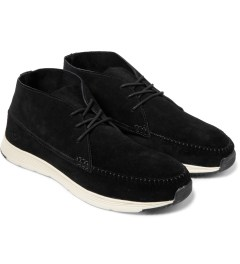 Ransom Black/Black Alta Mid Shoes Model Picutre