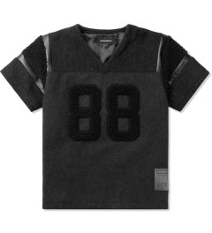 PHENOMENON Black Wool Team Big T-Shirt Picutre