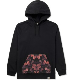 Carhartt WORK IN PROGRESS Tuscany Night Print Bicolor Hoodie Picutre