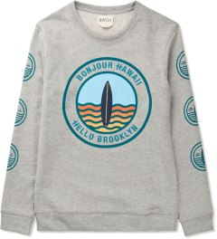 BWGH Grey/Green Surf Sweater Picutre