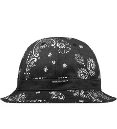 Undefeated Black Bandana Bucket Hat Picutre