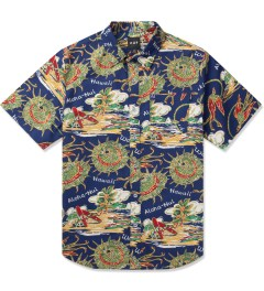 HUF Blue Souvenir S/S Woven Shirt Picture