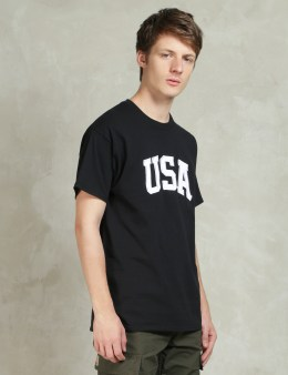 HUF Black Huf USA Heavyweight T-Shirt Picture
