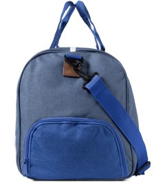 Herschel Supply Co. Cobalt Crosshatch Novel Duffle Bag Model Picture