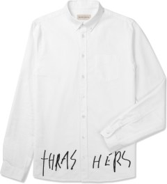 Libertine-Libertine White/Black Grill Hunter Thrasher Shirt Picutre