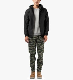 Grand Scheme Green Vector Track Chino Pants Model Picutre
