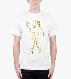 Billionaire Boys Club White/Gold S/S Full Astronaut T-Shirt Model Picture