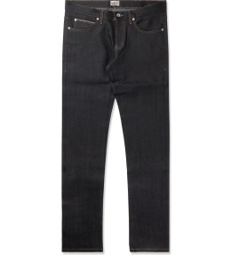 Naked & Famous Deep Indigo Stretch Selvedge Super Skinny Guy Jeans Picture