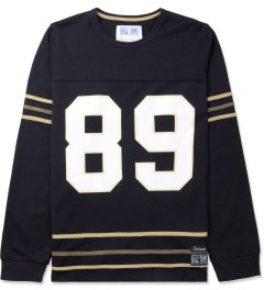 Hall of Fame Navy Score L/S Jersey Picture