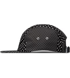 Publish Black Silas Polka Dot 5-Panel Camper Cap Model Picutre
