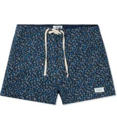SATURDAYS Surf NYC Blue Floral Print Trunk Picture