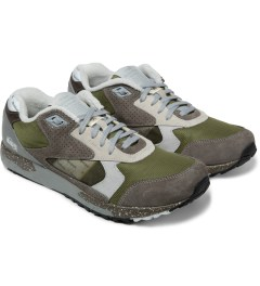Reebok Garbstore x Reebok Trek Grey/Green M43010 Baseball Classic GS Inferno Shoes Model Picture