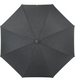 London Undercover Dark Grey/Neon Yellow City Gent Umbrella Model Picture