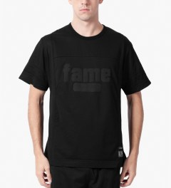 Hall of Fame Black Offside T-Shirt Model Picture