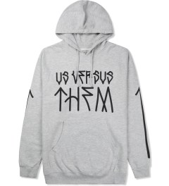 Us Versus Them Heather Grey Paulo Hoodie Picture
