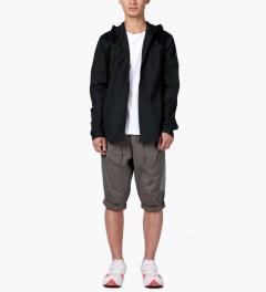 CLOT Lavender/Grey Tonal Panel Shorts Model Picutre