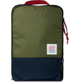 TOPO DESIGNS Navy/Olive Pack Bag Picture