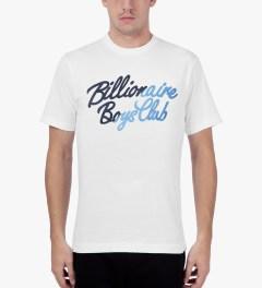 Billionaire Boys Club White S/S Slash T-Shirt Model Picutre