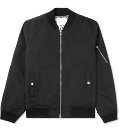 Liful Black MA-1 Blouson Jacket Picture