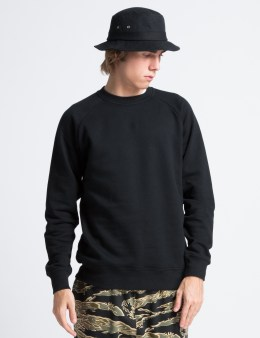 Black Scale Black Alexander Crewneck Sweater Picture