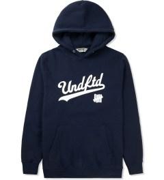 Undefeated Indigo UNDFTD Script Hoodie Picture